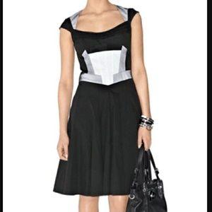UNIQUE 🛍 Karen Millen graphic panel dress size 8